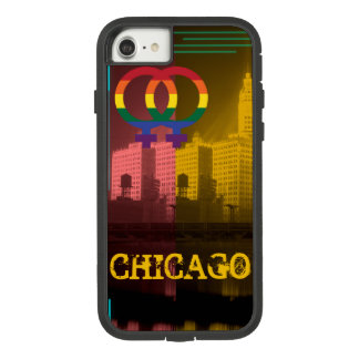 Chicago Gay Lesbian Interest Wrigley Bldg 1930's Case-Mate Tough Extreme iPhone 8/7 Case