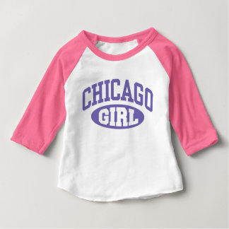 Chicago Girl Baby T-Shirt