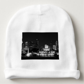Chicago Grant Park Grayscale Baby Beanie