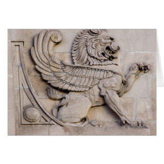 Chicago Griffin Greeting Card
