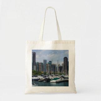 Chicago Harbor Tote Bag