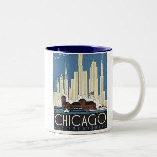Chicago Has Everything Two-Tone Mug