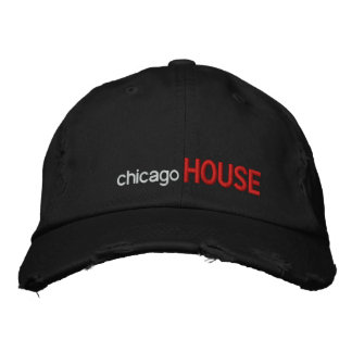 chicago, HOUSE Embroidered Cap