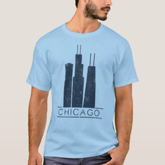 Chicago - Iconic Skyscrapers T-Shirt
