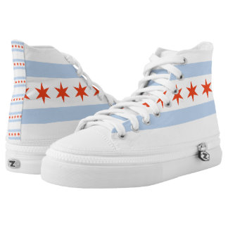 CHICAGO, IL - .png Printed Shoes