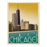 Chicago, IL - Skyline Postcard