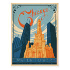 Chicago, IL - Water Tower Postcard