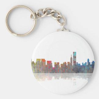 Chicago Illinios Skyline Key Ring