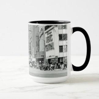 Chicago Illinois 1960's Oriental Theater Street Mug