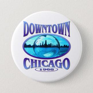 Chicago Illinois 7.5 Cm Round Badge