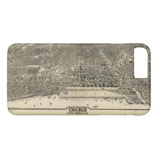 Chicago, Illinois Central Business Section (1916) iPhone 7 Plus Case