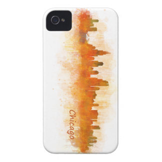 Chicago Illinois City Skyline v03 iPhone 4 Covers