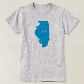 Chicago Illinois Love this City T-shirt