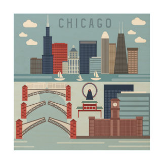 Chicago Illinois Poster