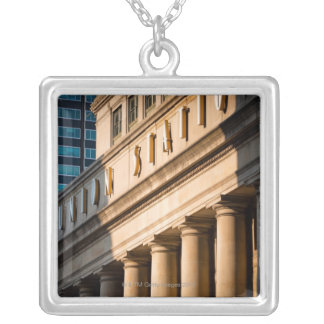 Chicago, Illinois Silver Plated Necklace