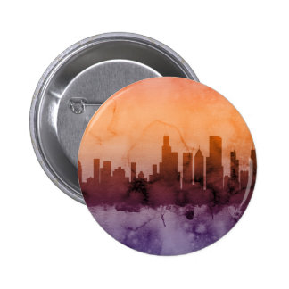 Chicago Illinois Skyline Button