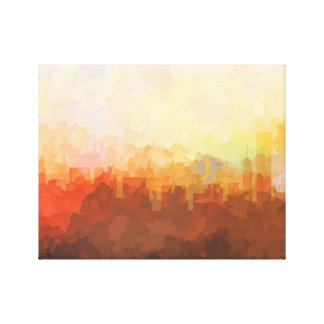 CHICAGO, ILLINOIS SKYLINE In the Clouds Canvas