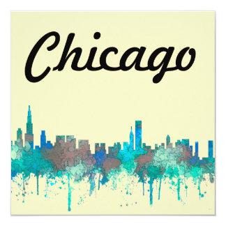 Chicago Illinois Skyline-SG-Jungle Card