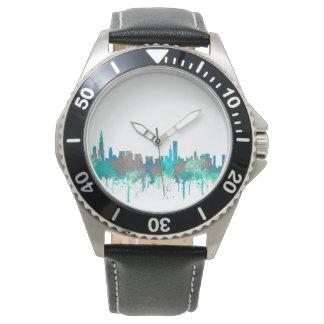 Chicago Illinois Skyline-SG-Jungle Watch
