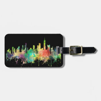 CHICAGO, ILLINOIS SKYLINE SP - LUGGAGE TAG