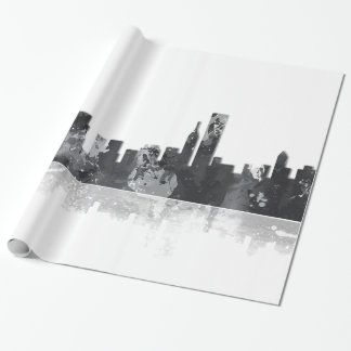 CHICAGO ILLINOIS SKYLINE - wrapping paper