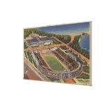 Chicago, Illinois - Soldiers Field and Field Gallery Wrap Canvas