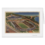Chicago, Illinois - Soldiers Field and Field Greeting Card