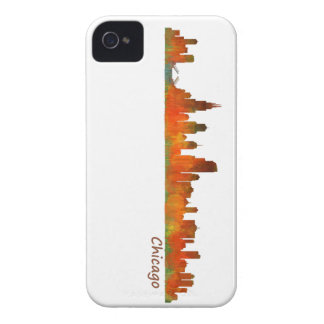 Chicago Illinois U.S. City skyline v01 iPhone 4 Cases