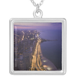 Chicago, Illinois, USA 6 Silver Plated Necklace