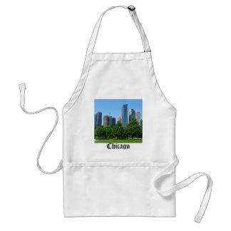 Chicago Illinois Windy City Park Buildings Destiny Adult Apron