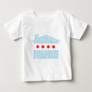Chicago Jack Flag Baby T-Shirt