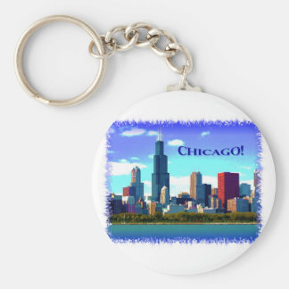Chicago Key Ring