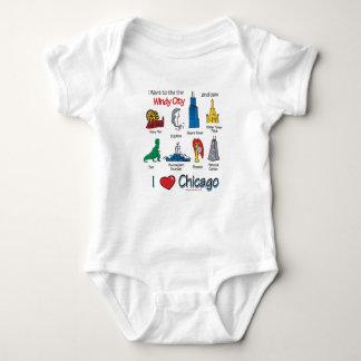 Chicago Kids Baby Bodysuit
