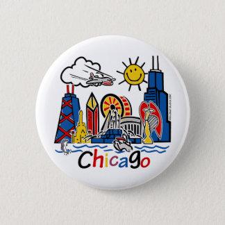 Chicago-KIDS-[Converted] 6 Cm Round Badge