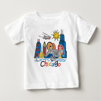 Chicago Kids Dark Baby T-Shirt