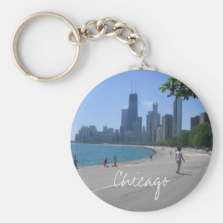 Chicago Lakeshore Key Ring
