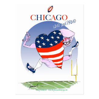 Chicago Loud and Proud, tony fernandes Postcard