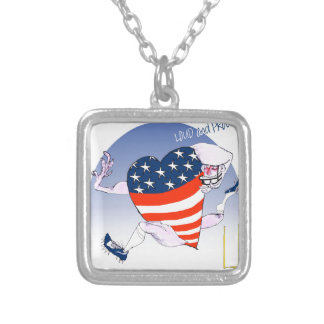 Chicago Loud and Proud, tony fernandes Silver Plated Necklace