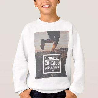 Chicago Marathon Finisher Run Running Race Sweatshirt