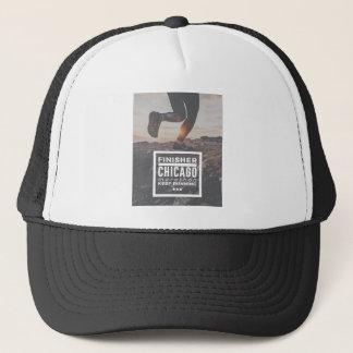 Chicago Marathon Finisher Run Running Race Trucker Hat