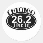 Chicago Marathon Sticker
