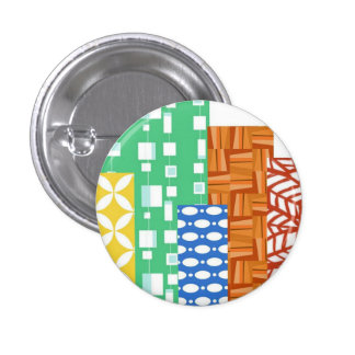 Chicago Modern Quilt Guild Mini Button