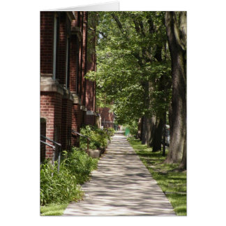 Chicago Neighborhood Sidewalk Card