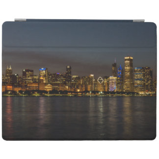 Chicago Night Cityscape iPad Cover