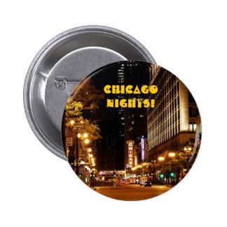 chicago nightlife pinback button
