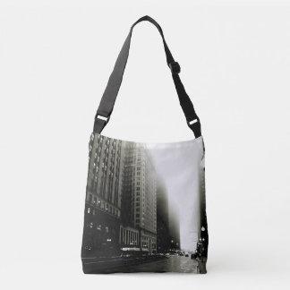 chicago noir crossbody bag
