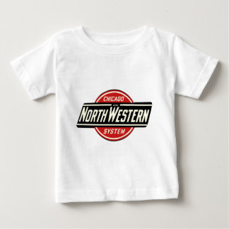 Chicago & Northwestern Railroad Logo 1 Baby T-Shirt