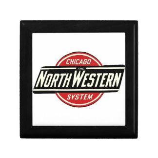 Chicago & Northwestern Railroad Logo 1 Gift Box