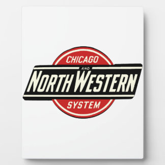 Chicago & Northwestern Railroad Logo 1 Plaque