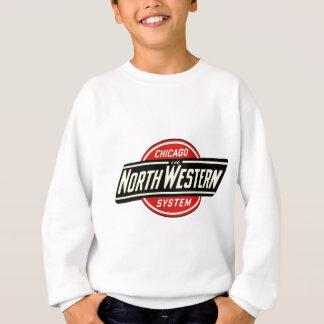 Chicago & Northwestern Railroad Logo 1 Sweatshirt